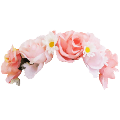 for free download. Rainbow flower crown png