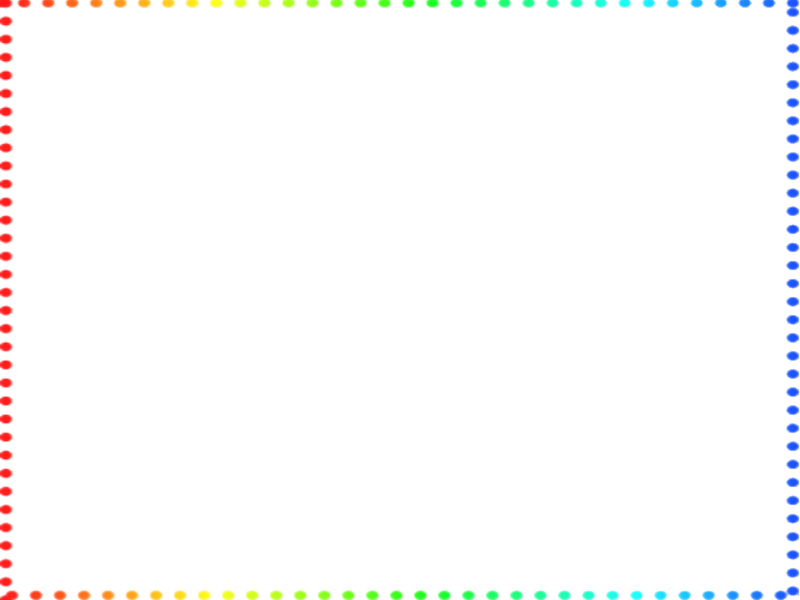 Rainbow frame png. By mirai on deviantart