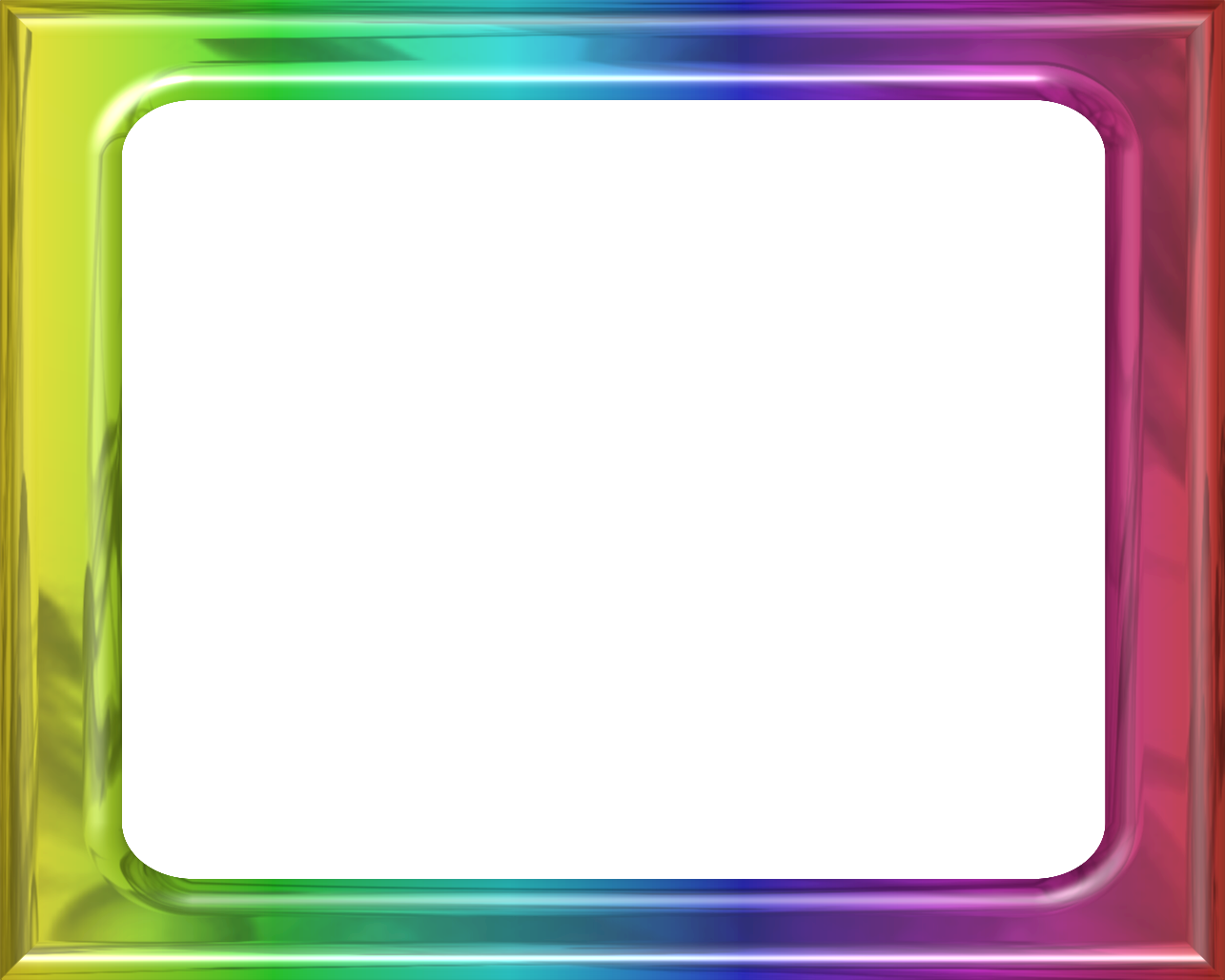 Rainbow frame png. Framess co by lashonda