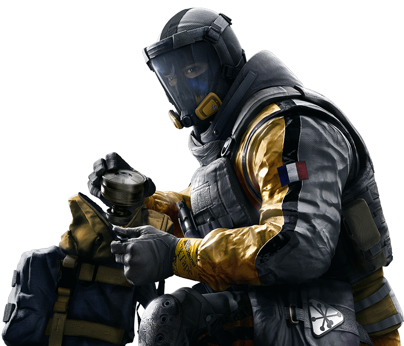 Rainbow six siege smoke png. Lion overview operators ubisoft