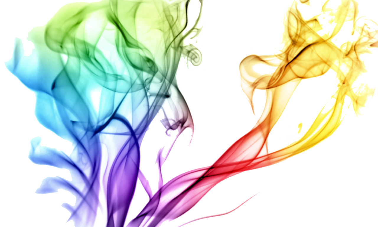 Colored transparent images all. Rainbow smoke png