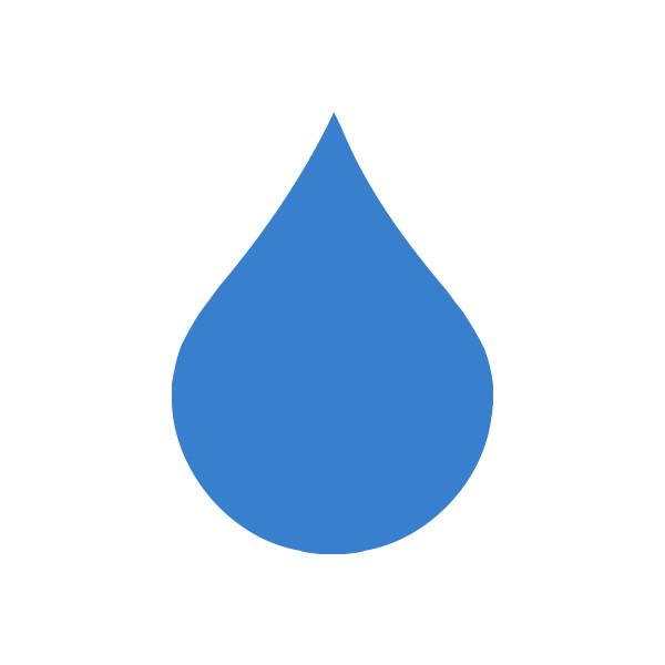 Raindrop clipart. Free public domain clip