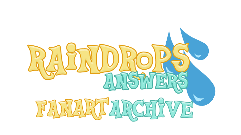 Raindrops answers fanart archive. Raindrop clipart banner