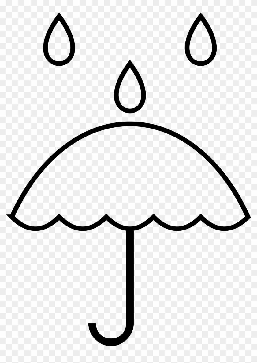 Raindrop clipart big.  image umbrella and