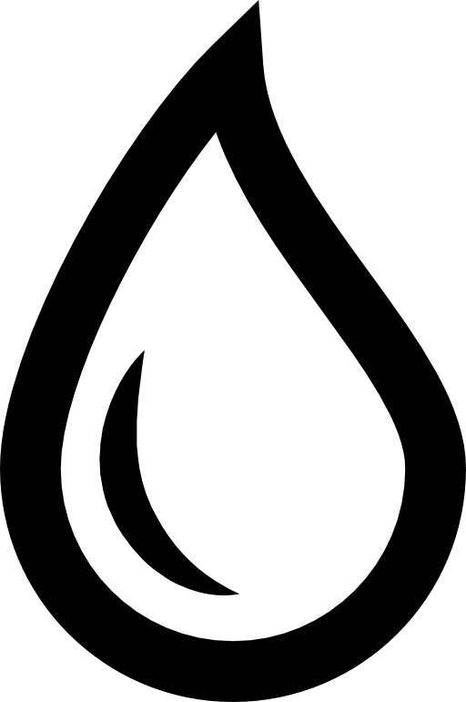Free water drop png. Raindrop clipart black and white