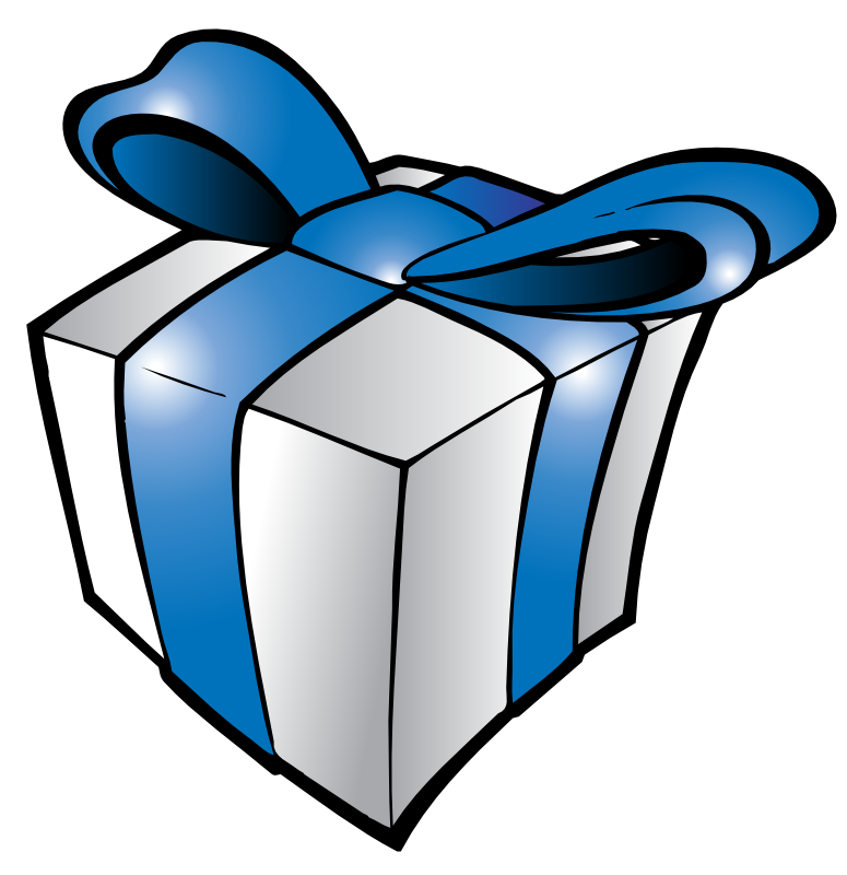 Raindrop clipart blue. Presents