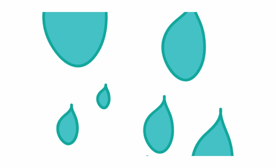 Raindrop clipart comic. Raindrops drop transparent png
