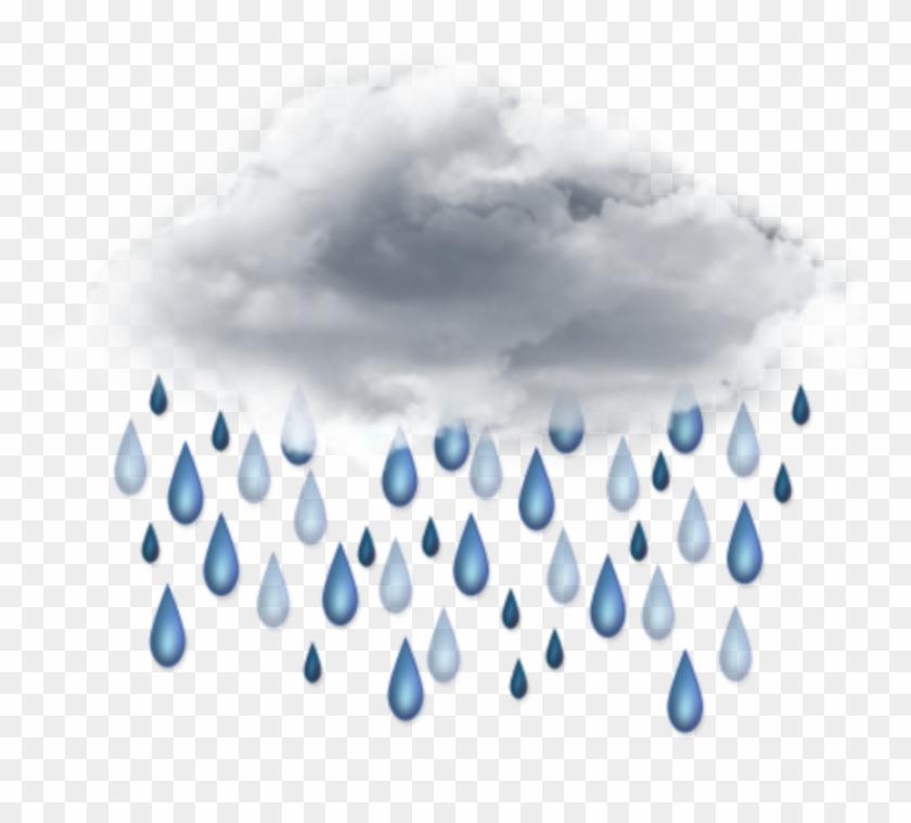 Ftestickers cloud rain raindrops. Raindrop clipart heavy rainfall