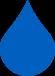 Clip art at clker. Raindrop clipart light blue