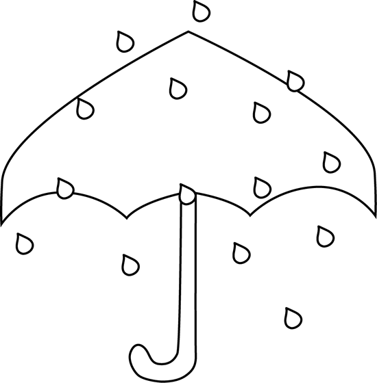 Black and white rain. Raindrop clipart muddy puddle