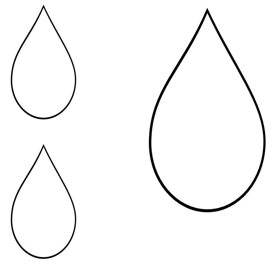 Free download best on. Raindrop clipart outline