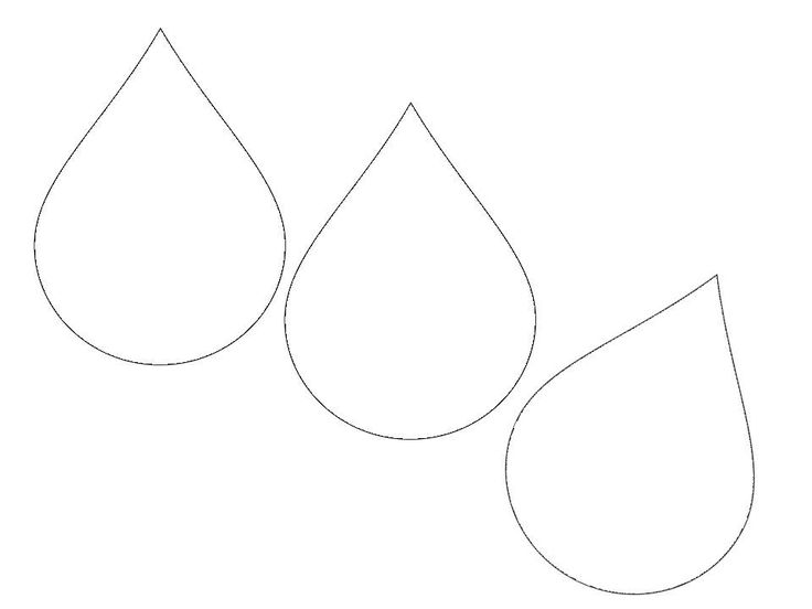 Raindrop clipart printable. Free download clip art