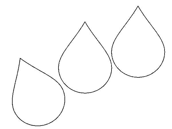 Free download clip art. Raindrop clipart printable