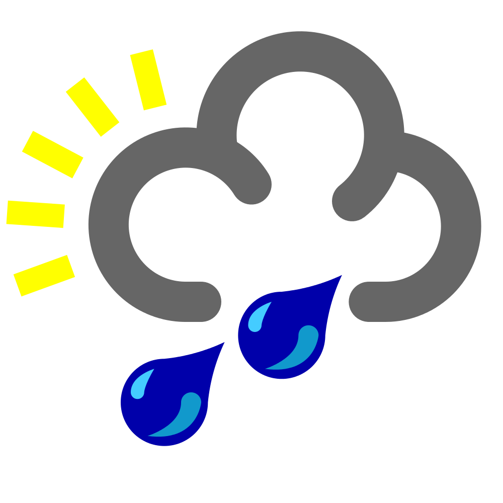 Raindrop clipart rainfall. File heavy rain shower