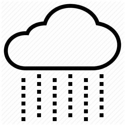 Raindrop clipart rainfall.  weather by nithinan