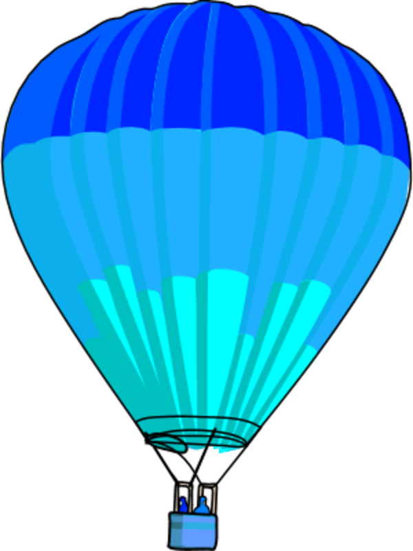 Free hot air balloon. Raindrop clipart teal