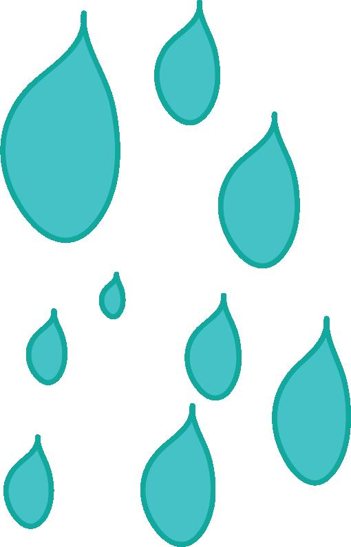 Raindrop clipart teal. Cartoon drop clip art
