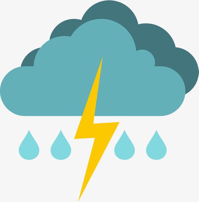 Raindrop clipart thunderstorm. Png free download best
