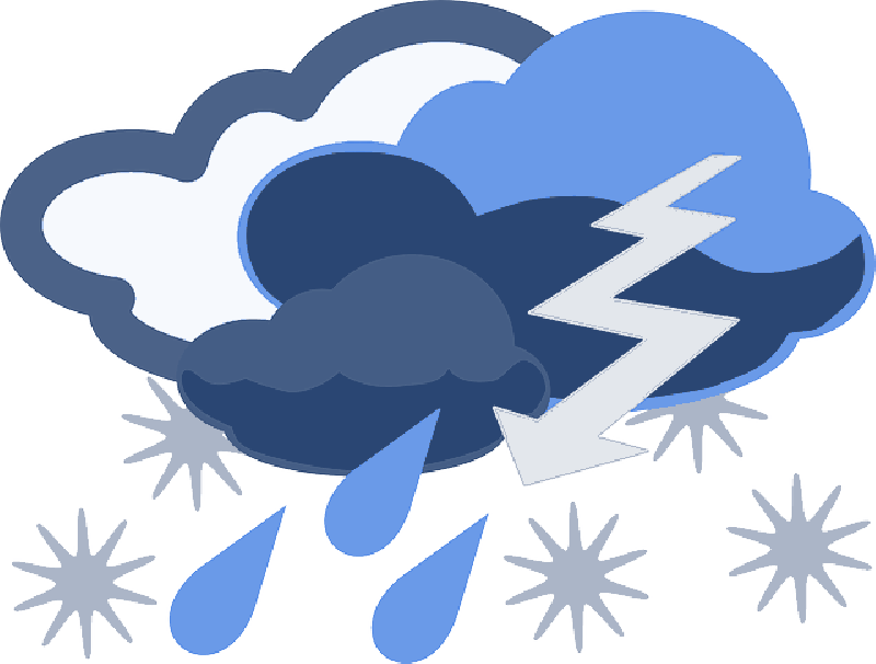 Raindrop clipart thunderstorm. Free pictures images found