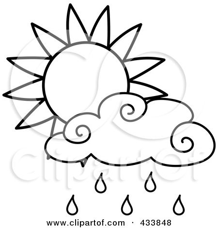 Raindrop clipart thunderstorm. Drawing of a illustration
