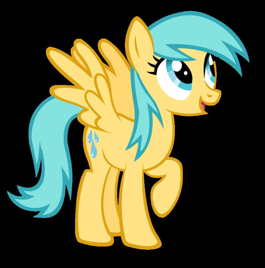 Raindrop clipart tiny. My little pony raindrops