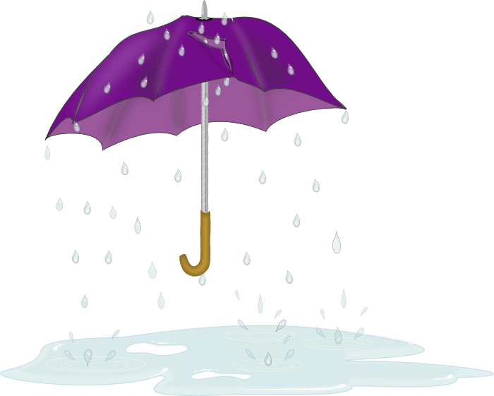 Raindrop clipart uses water. Free light umbrella cliparts