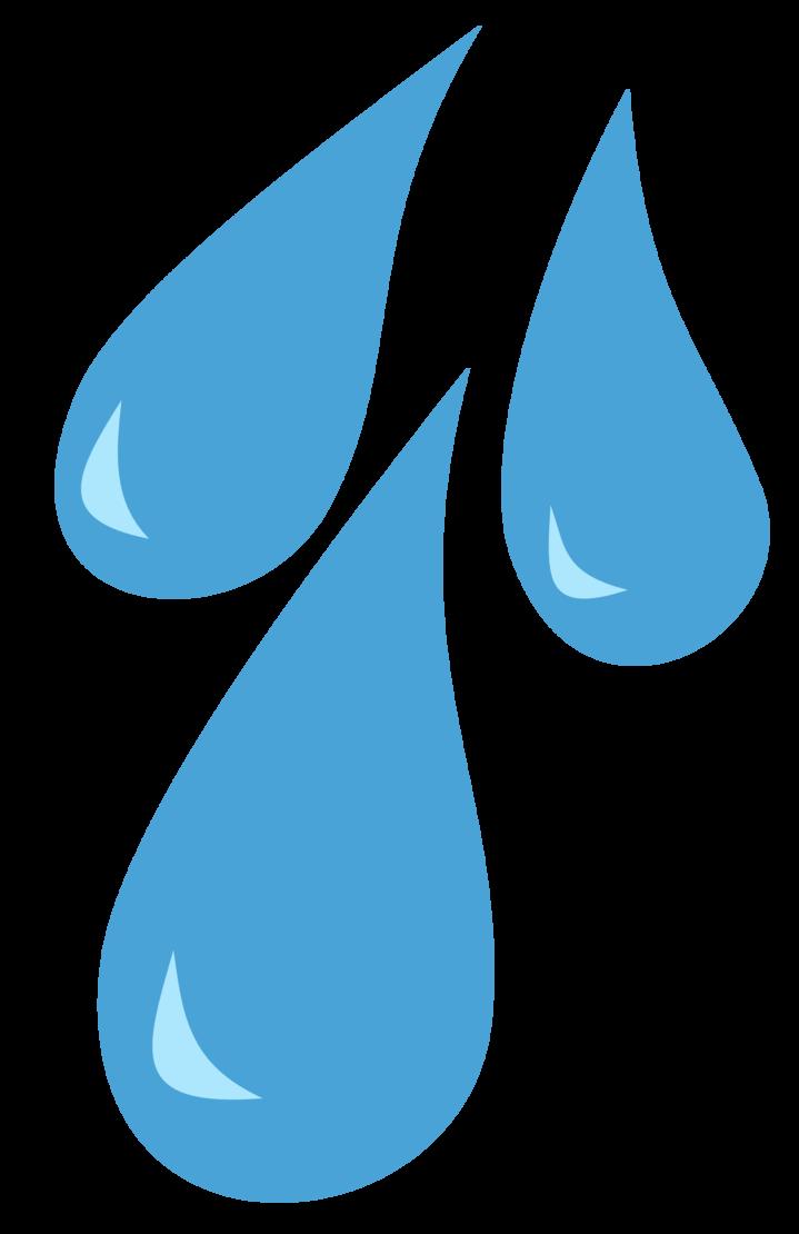 Raindrop clipart vector. Raindrops cutie mark by