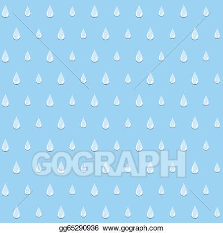 Raindrop clipart wallpaper. Vector art pattern drawing