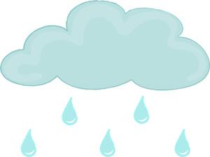 Raindrop clipart weather. Raindrops rainy pencil and