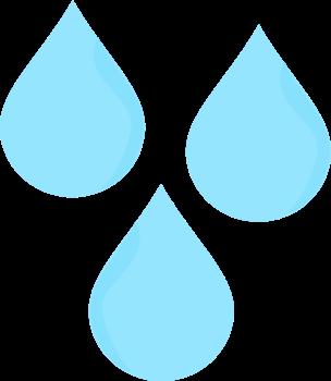 Raindrop clipart. Raindrops clip art image