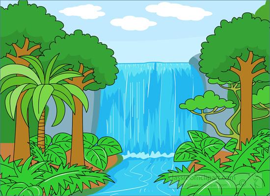 Rainforest clipart.