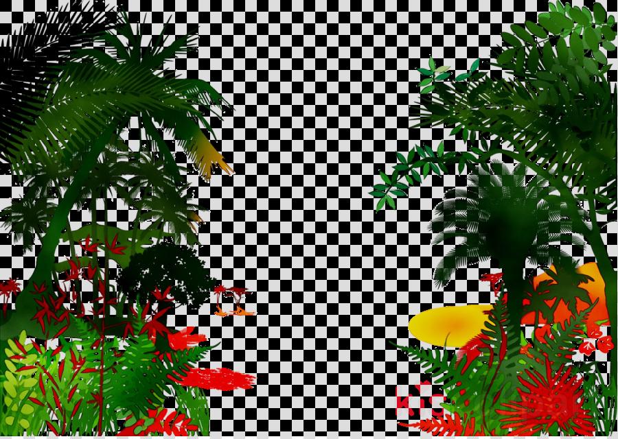 Rainforest clipart palm tree, Rainforest palm tree ...