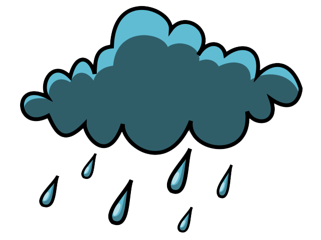 Wednesday clipart rainy. Rain clouds panda free