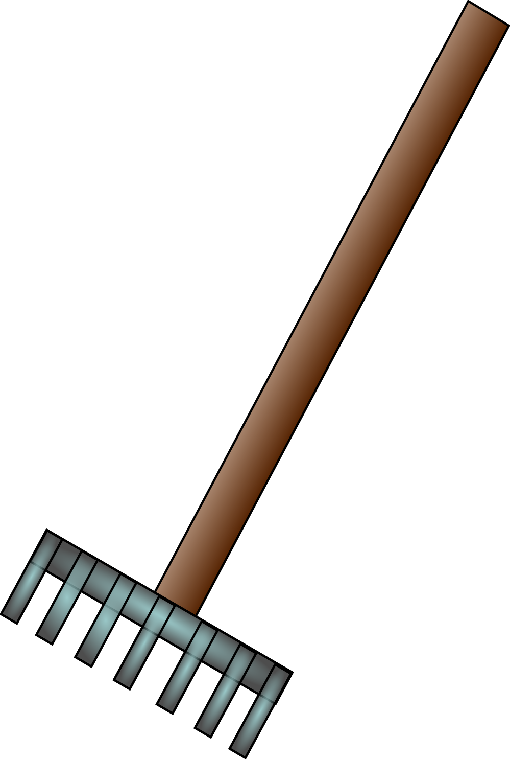 Rake clipart. And leaves clip art