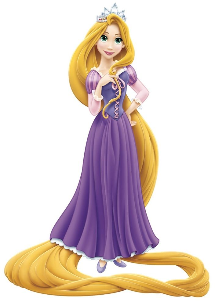 Rapunzel clipart. Disney princess tangled impr