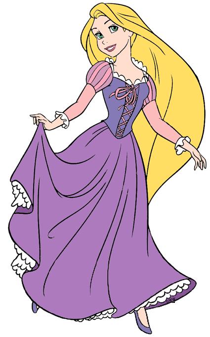 Rapunzel clipart. Tangled clip art disney