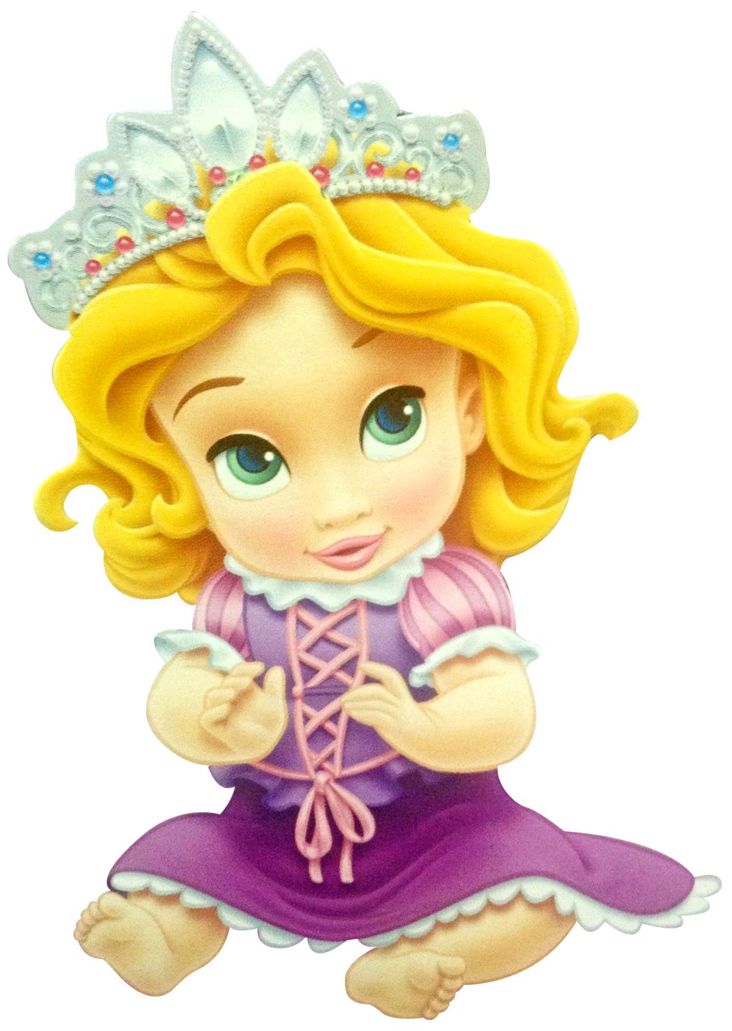 Rapunzel clipart baby. Princesas disney svg files