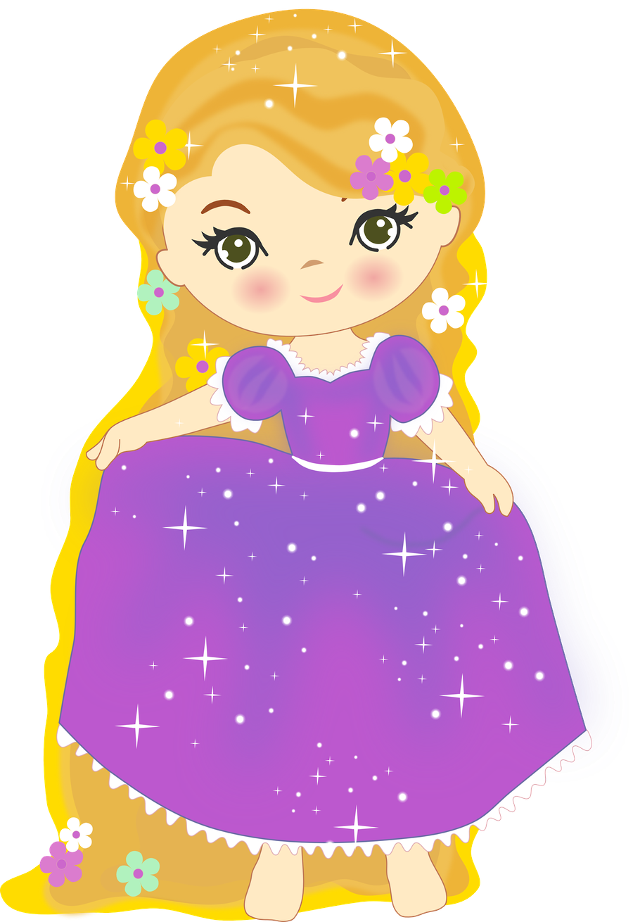 Minus say hello fairy. Rapunzel clipart baby