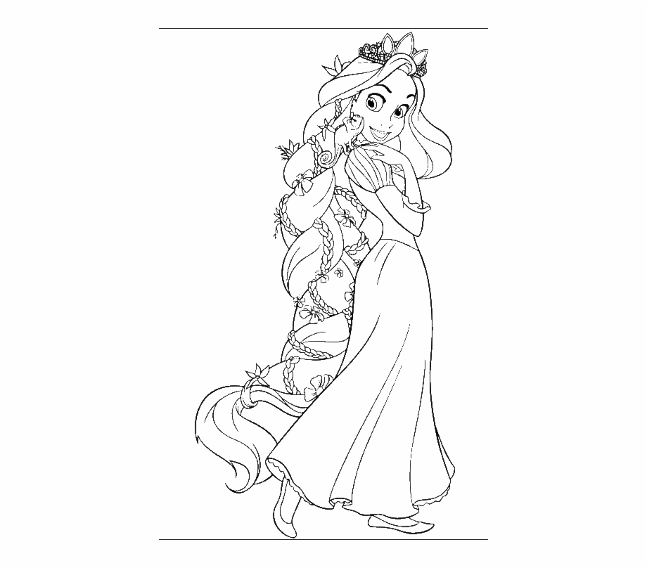 Free download clip . Rapunzel clipart black and white