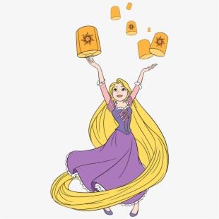 Rapunzel clipart cartoon. Free cliparts silhouettes cartoons