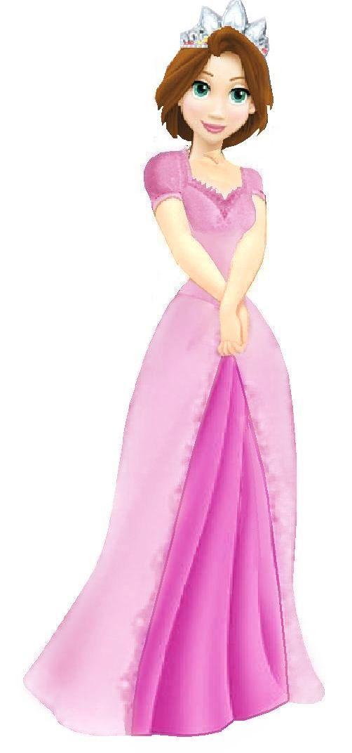 Rapunzel clipart fan. Princess d disney art