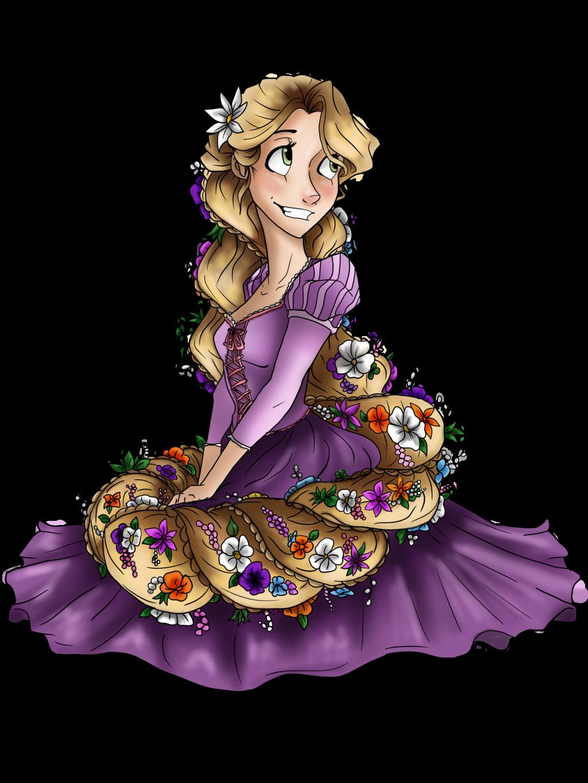 Drawing deviantart art disney. Rapunzel clipart fan