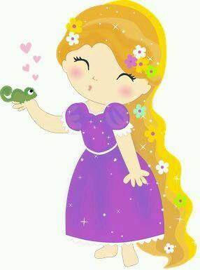 Rapunzel clipart lil. Printables disney