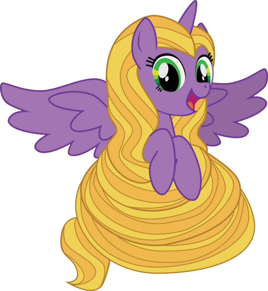 Image fanmade as pony. Rapunzel clipart lil
