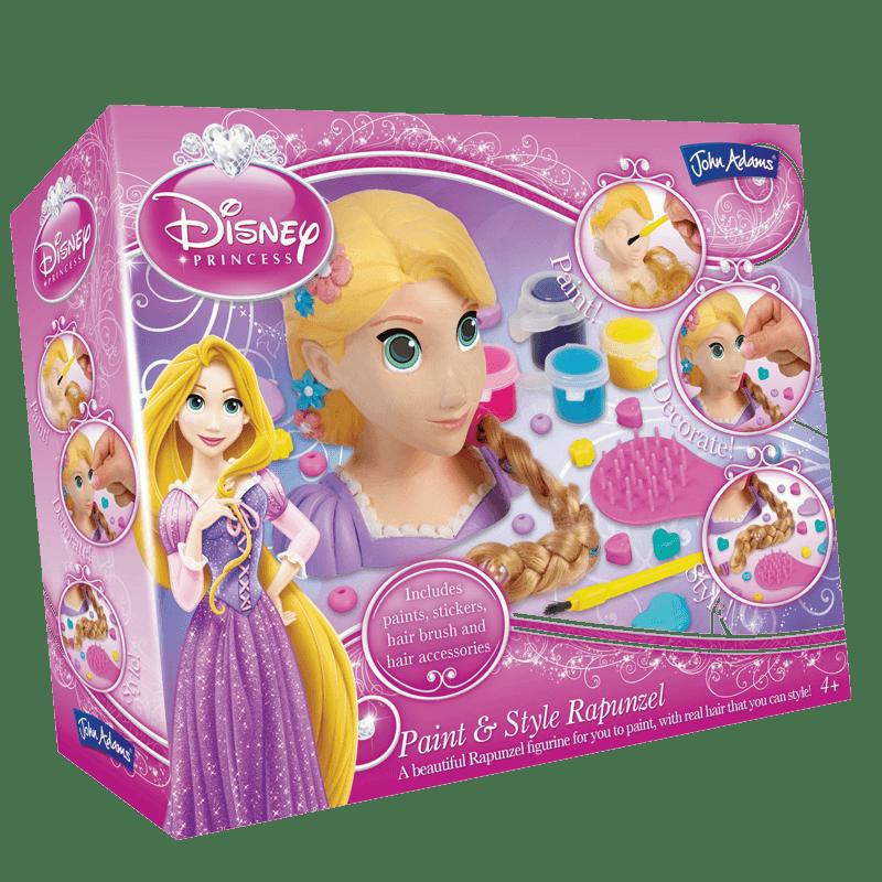 Disney princess and style. Rapunzel clipart paint brush