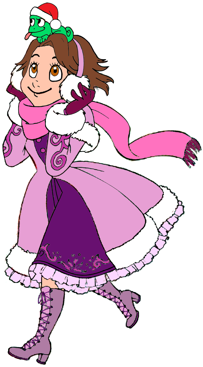Rapunzel clipart pascal. Image at christmas png