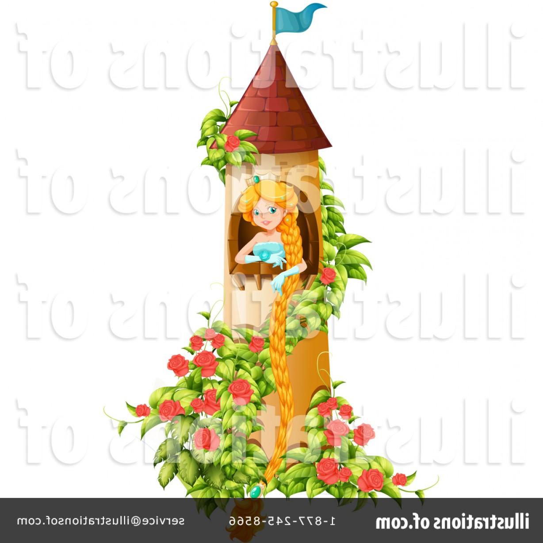 Rapunzel clipart rapunzel castle. Tower vector lamaison