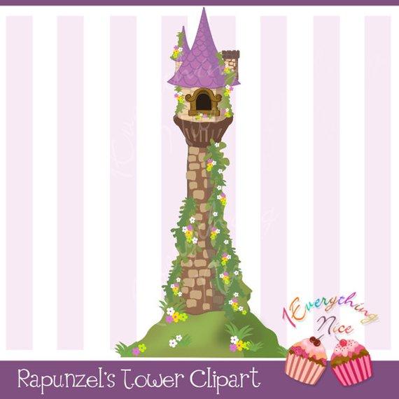 Rapunzel clipart rapunzel tower. S tangled clip art