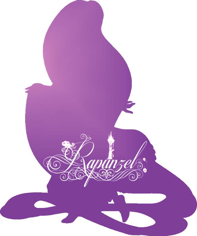 Rapunzel clipart silhouette. Disney princess photo fanpop