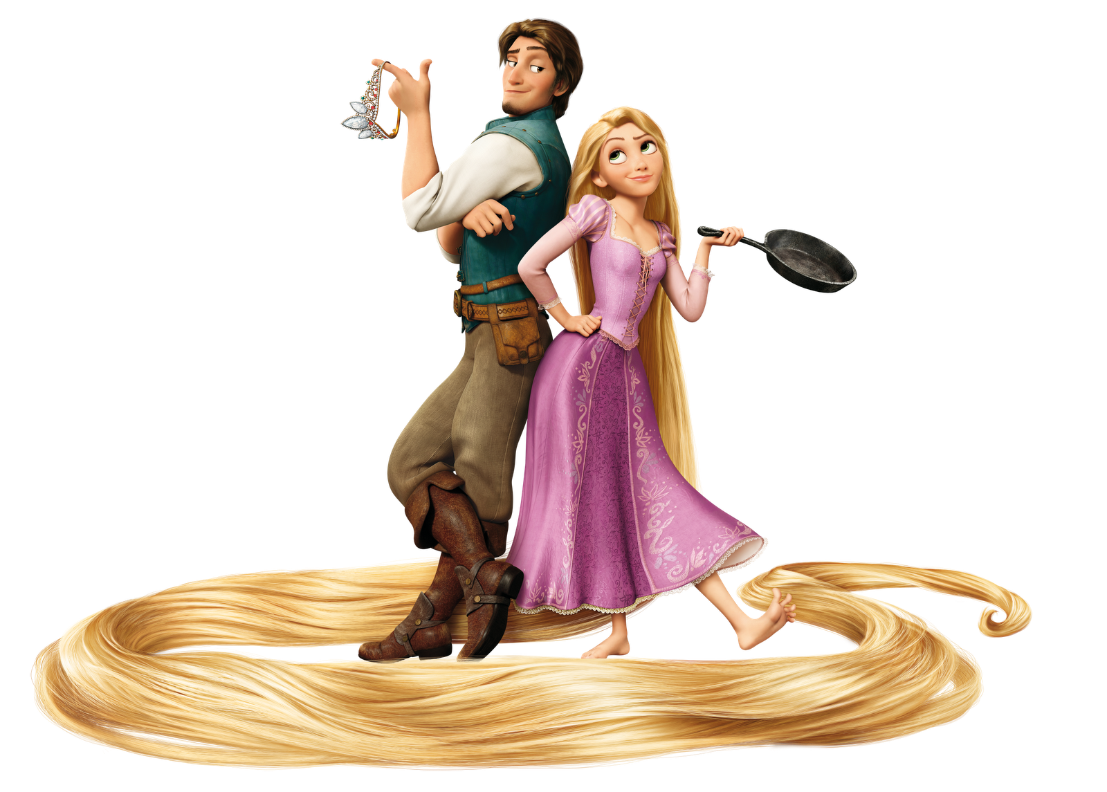 rapunzel clipart tangled movie #140466117